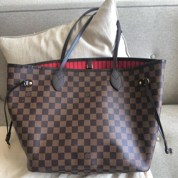 Louis Vuitton Handbags - ‼️SOLD‼️ Auth Louis Vuitton Neverfull mm